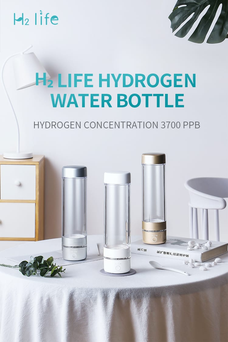 What are the advantages of a high concentration hydrogen water bottle?
