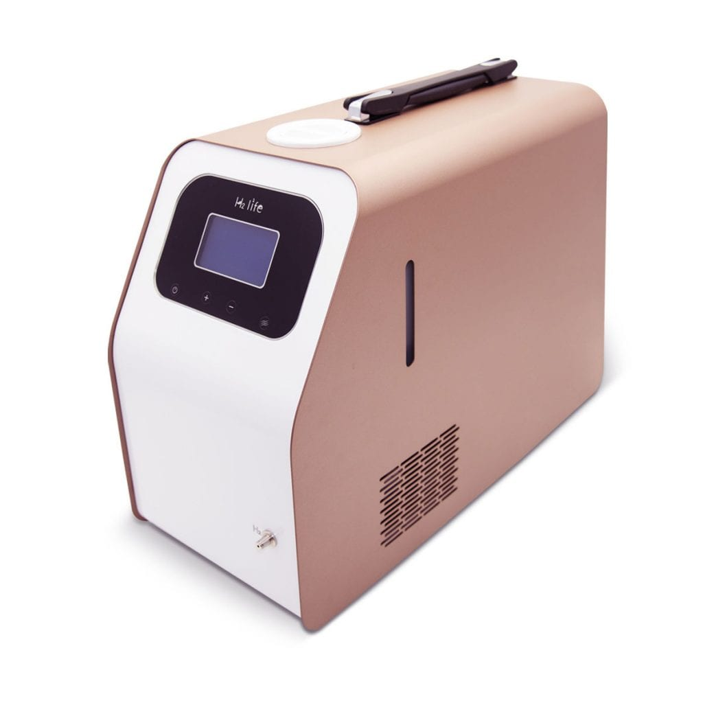 hydrogen inhalation machine by h2life