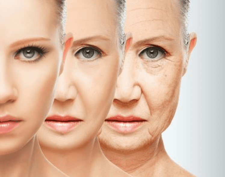 Anti aging effect of hydrogen water