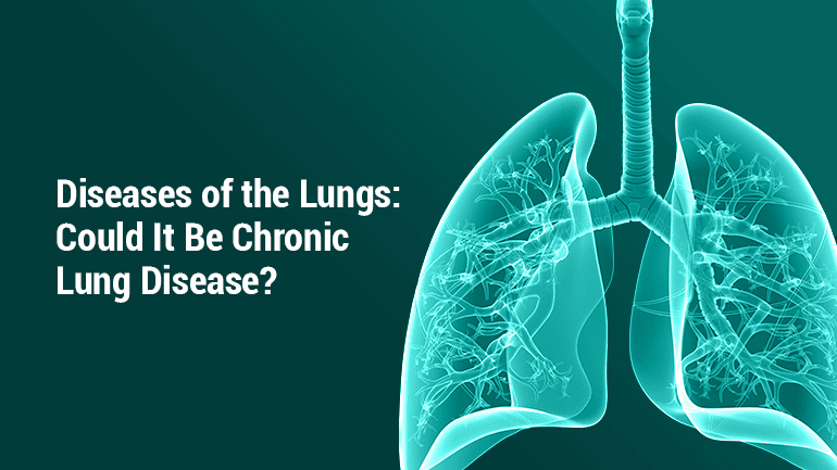 Hydrogen in treatment of lung diseases