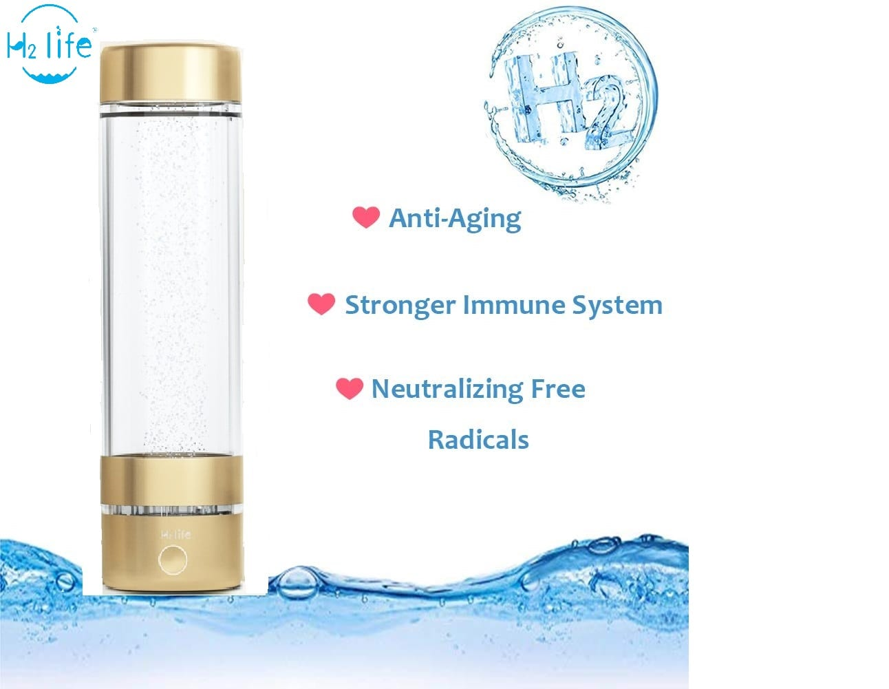 Hydrogen Water Boost Immunity System? Effects on human body