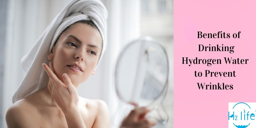 Effects of hydrogen water on skin