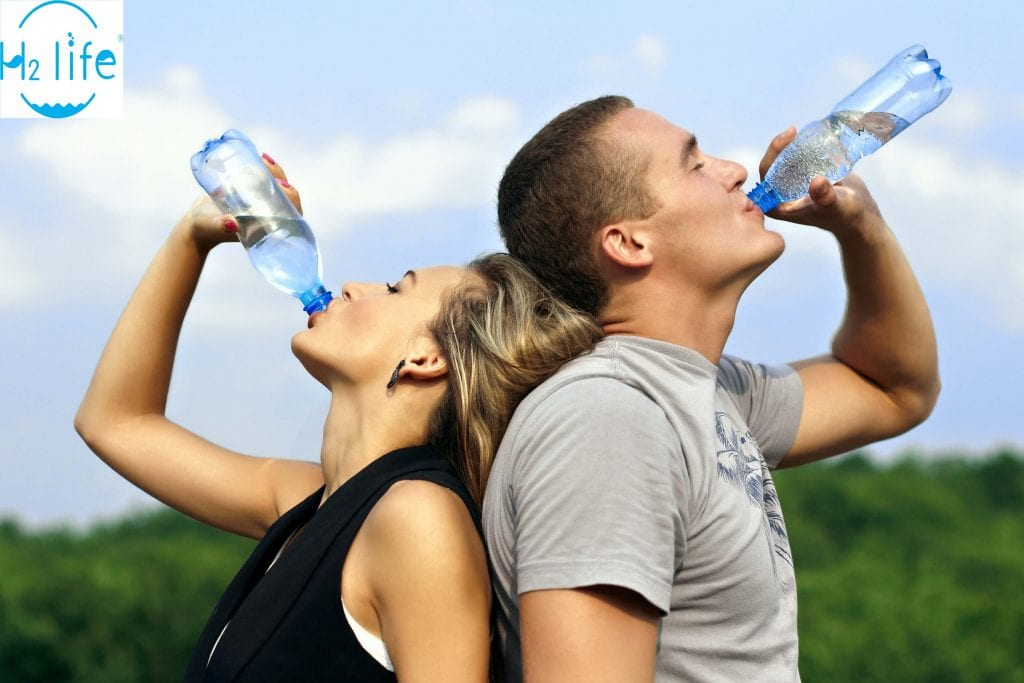 Hydrogen water to boost energy